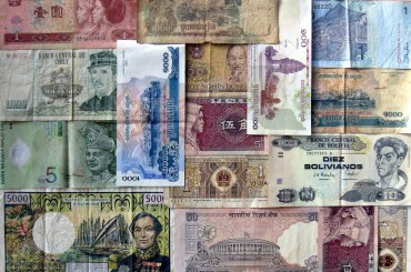 geld tauschen im Ausland